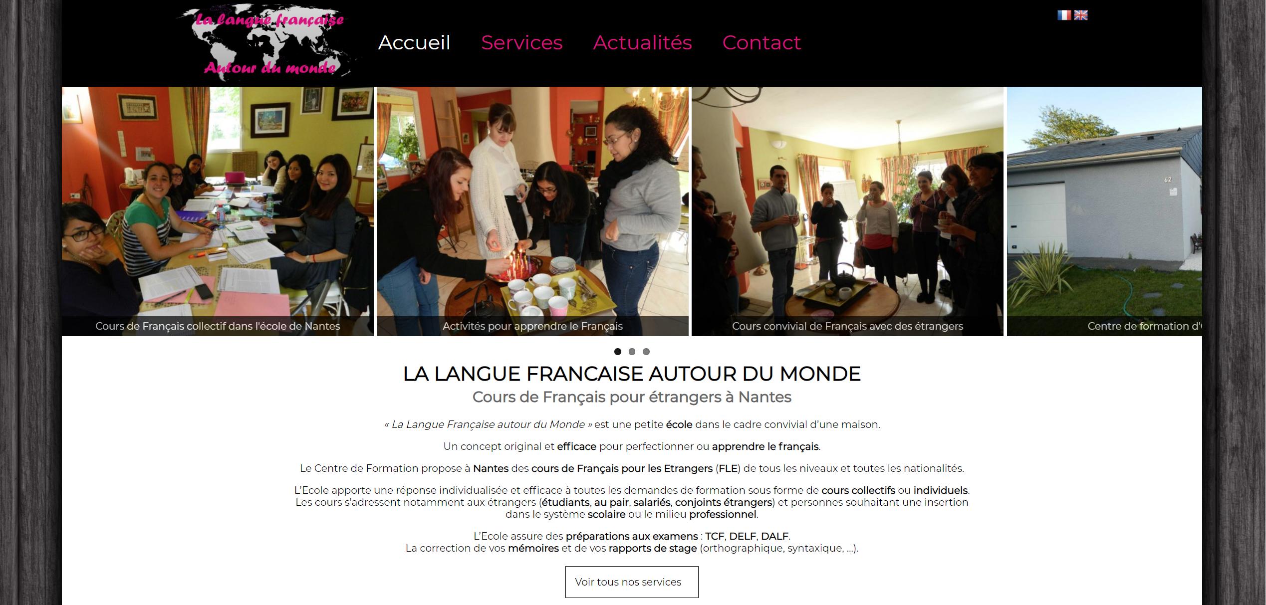 la langue française autour du monde